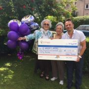 80th birthday party raises £1,250 for St Vincent's Hospice