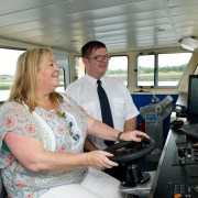 Renfrewshire's Provost takes to the Clyde to maintain Renfrew's historic fishing rights