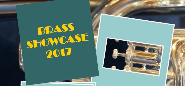 Brass Showcase 2017 at Johnstone Town Hall