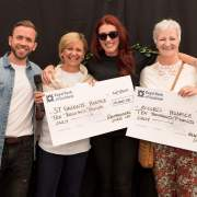 Two Renfrewshire Hospices receive surprise donations from Renfrewshire Sports Charity