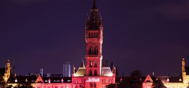 Edinburgh Castle, The Kelpies, University of Glasgow and Dundee's Caird Hall illuminated to support Paisley 2021