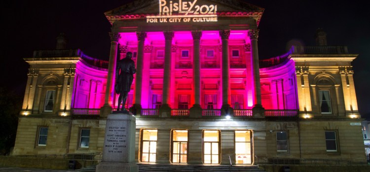Paisley UK City of Culture bid helps Renfrewshire to 25% visitor increase