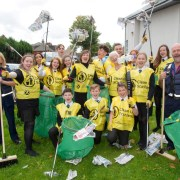 Clean-up campaign launched in Renfrewshire as communities are urged to 'Team Up to Clean Up' and to take pride in their area