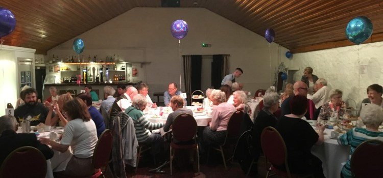 Joint team party for Contact the Elderly's Renfrewshire groups