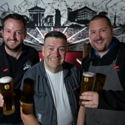Tom Urie helps Burger and Keg say cheers to Paisley's Spree programme