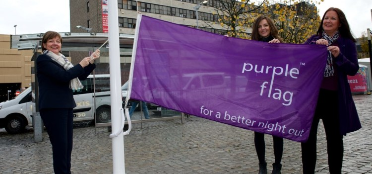 Paisley flys the flag for a safe and welcoming night out