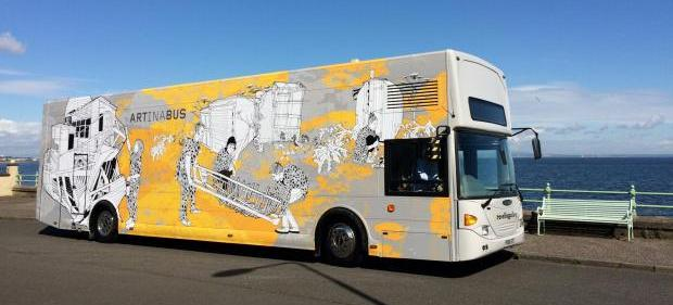 Travelling Gallery Autumn 2017 Exhibition at Paisley & Johnstone Town Halls