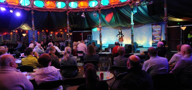 Danny Kyle open stage launches at the Spree Festival