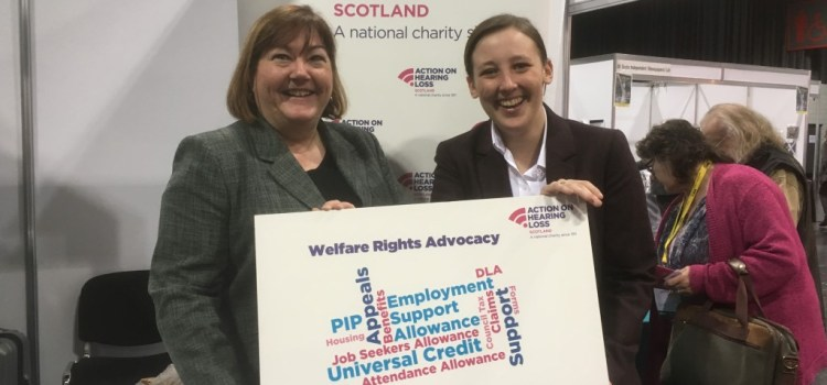 MP welcomes charity's social security advice service for deaf constituents
