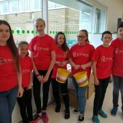 Police Youth Volunteers help raise money for St Vincent's Hospice