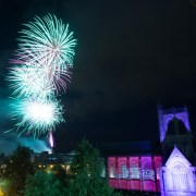 Thousands turn out for 1980s themed Paisley Fireworks spectacular