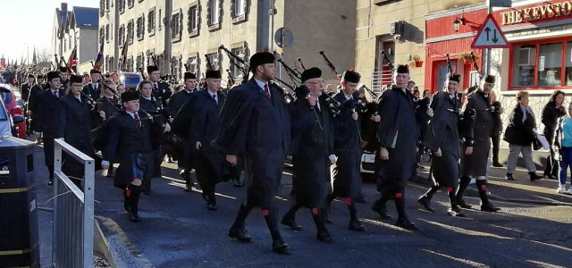 Renfrewshire marks Remembrance Sunday with services across our Towns and Villages