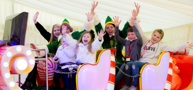 Santa's Cove arrives at intu Braehead along with Santa, Mrs Claus and his Elves