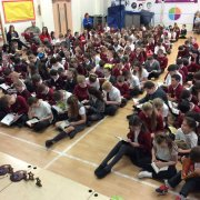 Renfrewshire pupils take part in national reading campaign Book Week Scotland