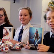 Renfrew High pupils book in for advent calendar with a difference