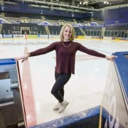 Special ice skating sessions for youngsters and adults with autism
