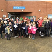 Jingle Bell Mile is a walk in the park for St David's pupils in Johnstone