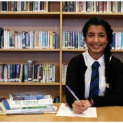 Renfrew student, Sherzah Jamal makes Scotland's top young writer shortlist