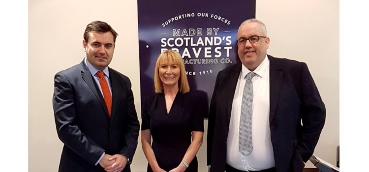 Scotland's Bravest Manufacturing Company welcomes National Lottery funds boost