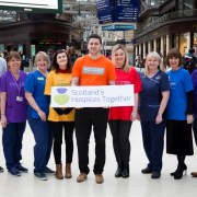 Launch of Scotland's Hospices Together held at Glasgow's Central Station