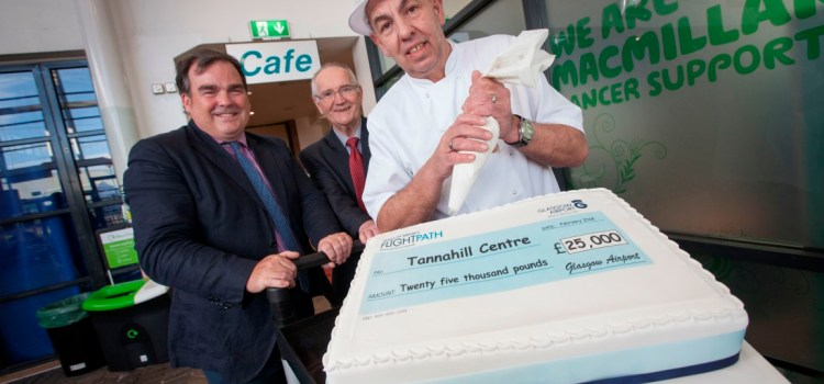 Tannahill Centre's Community Cafe to be refurbished after a £25,000 award from the Glasgow Airport FlightPath Fund
