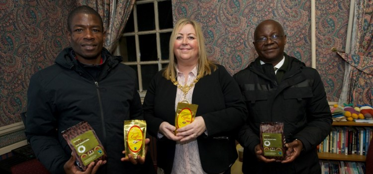 Malawi coffee producers visit Renfrewshire to outline the benefits of fair trade
