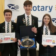 St Columba's Pupils win at Rotary Youth Speaks District Final – Area finals to be held on Sunday