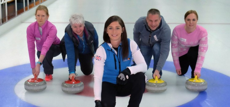 Eve Muirhead gets back to grassroots curling by coaching beginners