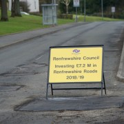 Renfrewshire Council announce £7.2million road and footpath resurfacing programme – full list revealed