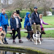 Mass community dog walk sets tongues and tails wagging across Renfrewshire