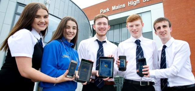 NHS Scotland praises award winning family fitness app idea by Renfrewshire pupils
