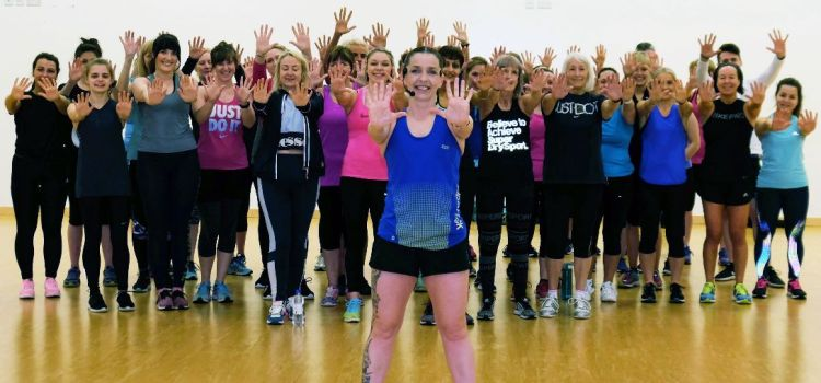 Ten out of ten for Lesley's fitness classes