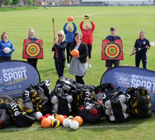 Pupils can get sporty with new kit from Renfrewshire Leisure