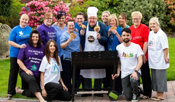 Tam Cowan Sizzles for ACCORD and St Vincent Hospice