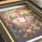 Celtic's bespoke Brother Walfrid presentation box gets a luxury print finish from local firm