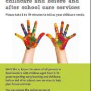 Parents asked to help shape early learning and child care provision