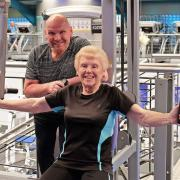 Super-fit great-gran Jean is a legend in the gym
