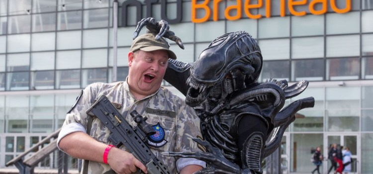 Thousands turn out for Film and Comic Con event at intu Braehead