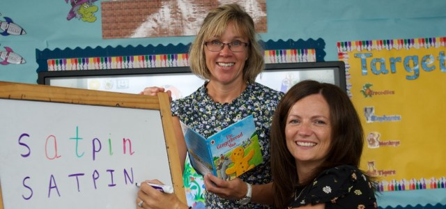 Mrs Reid and Mrs Wright to teach kids how to – READ and WRITE