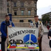 MP attends Paisley CND stall