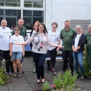 intu Braehead volunteers help out at Wallace Primary School in Elderslie