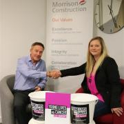 Morrison Construction cycles hundreds of miles to raise thousands for charity