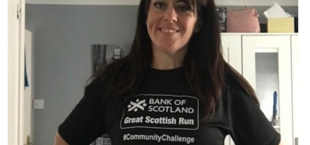 Renfrew's Lisa Reid gearing up for her second Great Scottish Run