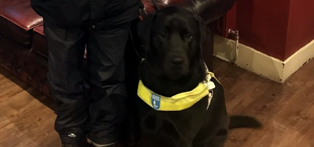 Kilbarchan man Derek backs fundraising drive to name a guide dog puppy 'Habbie'