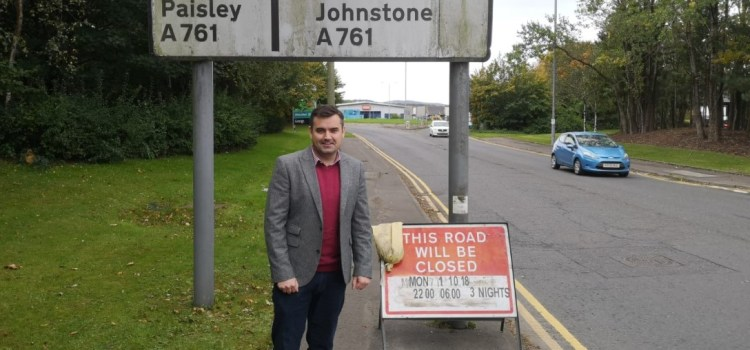 MP praises the installation of a zebra crossing at Phoenix Retail Park
