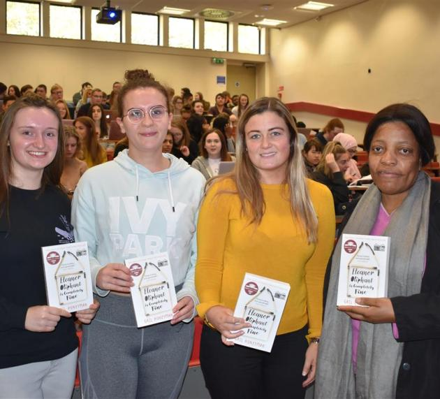 UWS launched the Big Read which saw over 500 students given a copy of 'Eleanor Oliphant is Completely Fine'