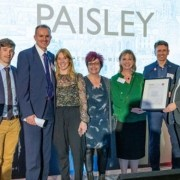 Paisley first ever Scottish place to be crowned best town in UK & Ireland at Urbanism Awards