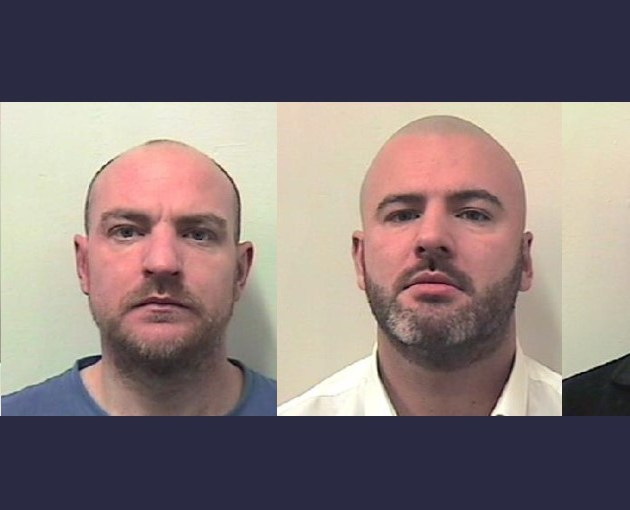 Drug gang who made 'Valium' pills in a Paisley garage are jailed