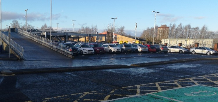 Johnstone Railway Station car park set to close next week for resurfacing works