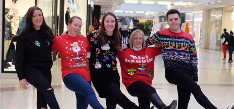 Mall staff jump to it for Christmas Toy Bank Appeal